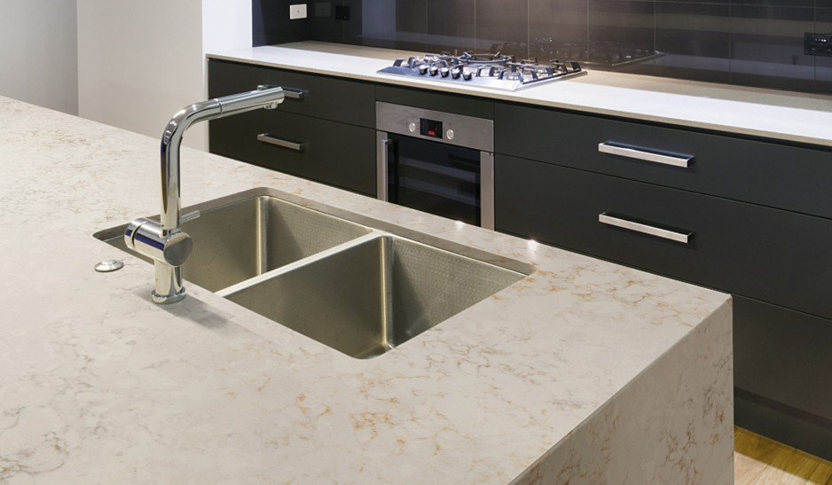 Worktop solutions gibraltar silestone nebula code for Silestone kitchen sinks